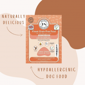 Hypoallergenic Grain-Free Dog Food Infographic.